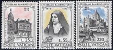 (Ref-12389) Vatican City 1973 St.Theresa of Lisieux SG.594/596 Mint MNH Sc:534-6