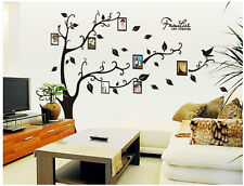 Home Decor Family Photo Frame Tree Removable Decal Room Wall Sticker Vinyl Art