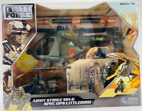 BBI Elite Force Army StrIke MH-6 Spec Ops Littlebird Helicopter  Playset #004334