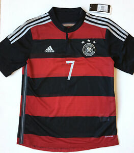 ADIDAS 2014 Away Germany Jersey #7 Schweinsteiger Soccer Football NWT Sz Large
