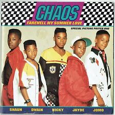 "CHAOS - 7"" - Farewell My Summer Love + Special Poster Bag.  Michael Jackson"