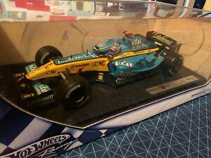 Formula 1 Hot Wheels 1:18 Fernando Alonso Renault R25