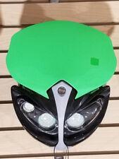 12V Universal Front Light Fairing for Motorcycle Dirt Bike Headlight GREEN