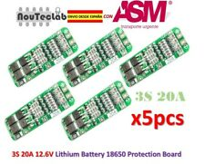 5pcs 3S 20A Li-ion Lithium 18650 BMS PCM Battery 12.6V Protection Board