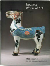 CATALOGUE SOTHEBY'S JAPANESE WORKS OF ART NEW YORK MARCH 25 1998