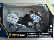 MOTO MINIATURE BMW 1200 RT P NEW YORK POLICE DEPARTMENT NYPD 1/12° new ray