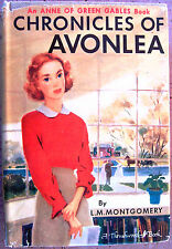 Chronicles of Avonlea L.M.Montgomery 1940 HB/DJ Vintage