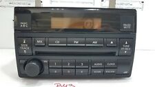 2005 - 2006 Nissan Altima CD Player Radio OEM