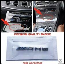 New Small Mercedes AMG Badge Cockpit Centre Console Dashboard Interior C E A S