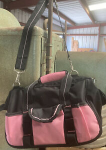 Pink And Black Tool Bag With Basic Tools