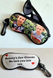 Glasses pouch/case Custom Made With Your Own Photo