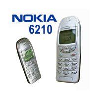 TELEFONO CELLULARE NOKIA 6210 SILVER GRIGIO GSM 2G 2000 GARANZIA ITALIA USATO-