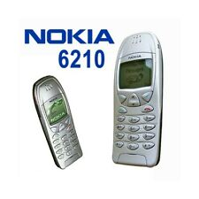 Phone Mobile Nokia 6210 Silver Grey Gsm 0.0705oz 2000 Warranty Italy Second Hand