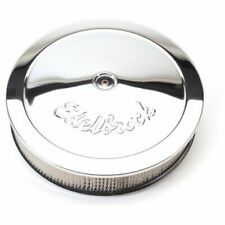 """Edelbrock 1221 Pro-Flo 14"""" Round Air Cleaner with 3"""" Paper Element (Deep Flange)"""