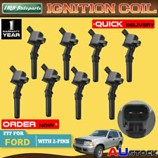 8x For Ford Explorer UQ UX UZ 01-04 V8 4.6L F-250 F-350 5.4L Ignition Coil