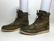 VTG WOMENS ESQUIVEL CASUAL GREENISH BOOTS SIZE 9