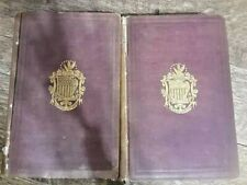 New listing Pictorial Field-Book Of The Revolution by Benson J. Lossing, Volume 1 & 2 1860