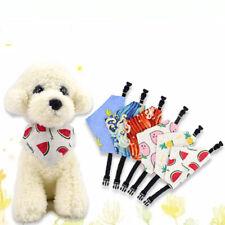 Cute Fruit Pet Dog Grooming  Bandana  Collar Neck Scarf Puppy Cat Adjustable