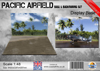 Coastal Kits 1:48 Scale Pacific Airfield Base & Background set