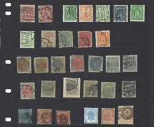 Denmark-Collection-Older- Used-Mint-Average-Vf-Many Better-