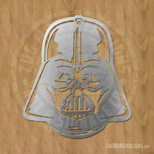 Darth Vader Metal Wall Art Sign