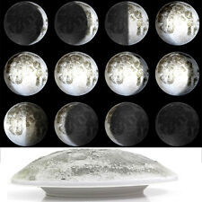 Infrared Remote Control LED Moon Wall Light Can Display 12 Kinds of Moon Phase