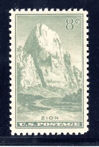 US STAMP #747 — 8c NATIONAL PARKS—  VF-XF —  UNUSED —  GRADE 85