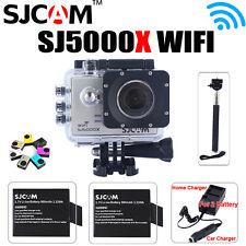 SJCAM SJ5000x Elite 4K WiFi Sports Action Camera+ Battery+Dual Charger+Monopod