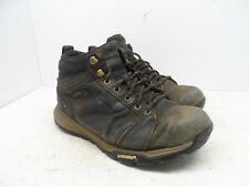 WINDRIVER Men's Low Cut Athletic Hiking Trail SneakerBoot Brown Size 8M