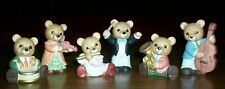 Homco porcelain musical bears. Perfect condition no breaks, chips, or cracks