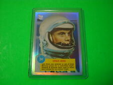 "2013 TOPPS 75TH ANNIVERSARY 1963 ""ASTRONAUTS "" PARALLEL RAINBOW FOIL CARD #28"