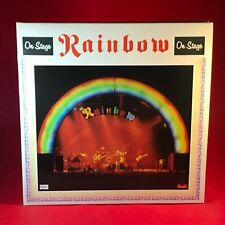 RAINBOW On Stage 1977 UK double Vinyl LP EXCELLENT CONDITION live  original