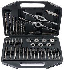 Gewindeschneider Satz Zoll Werkzeug Set 39-tlg Gewinde Bohrer Gewindeschneidsatz