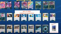 Eternatus V Eternatus Vmax Crobat V deck- Pokemon TCG online PTCGO