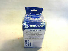 """NEW INTERMATIC WP1010MXD METAL-IN-USE RECEPTACLE COVER 3-1/8"""" DEPTH"""