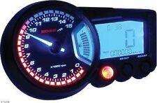 KOSO Universal Speedometer Tachometer Gauge RX-2 Black 15K RPM BA010001