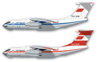 Fundekals 1/144 Decals ILYUSHIN IL-76 AEROFLOT Liveries Unlimited - 44-010