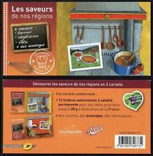 FRANCE MNH 2010 Flavours Prestige Limited Edition Booklet No1