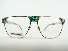 Size Vintagefassung Extravagant Ladies Glasses Metal+Colourful Plastic Size L