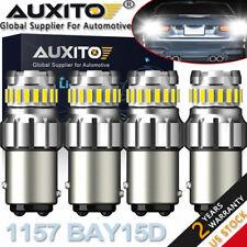 Canbus Auxito 1157 Led Turn Signal Brake Reverse Parking Light Bulb 6500K White