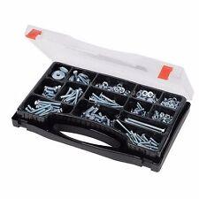 COACH BOLT & SCREWS SET PACK 580 PCE ZINC PLATED TOOLS HARDWARE FIXING TOOL P465