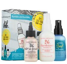 """Bumble and Bumble """"Soft, Sea-Tossed Hair (Anywhere)"""" Surf Travel Set;New in Box!"""