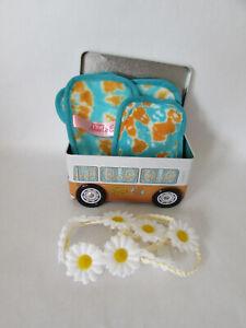 The Original MakeUp Eraser Good Vibes 7 Day Set & Flower Headband & Storage Tin