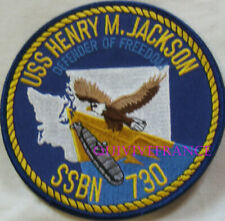 PUS276 - US NAVY USS HENRY M.JACKSON SSBN 730 PATCH SOUS-MARIN NUCLEAIRE