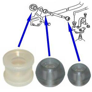 3 pcs Gear Linkage Selector Bush Kit shift rod repair VW T4 MK4 Transporter EAP™