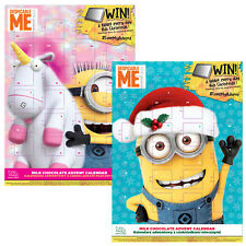 Minions Adventskalender 2017 2er Set - 2 x 65g Milchschokolade