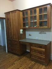 Blackwood Timber Kitchen Cupboards Complete Includes Electric Oven and Hotplates