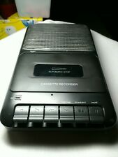 Onn Cassette Recorder Built In Microphone Speaker and One touch Recording
