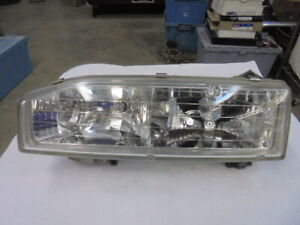 1990-1991 Honda Accord LH Headlight OEM Used
