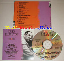 CD DUKE ELLINGTON Musica & musica 1992 BMG PROMO CURCIO dvd mc lp vhs